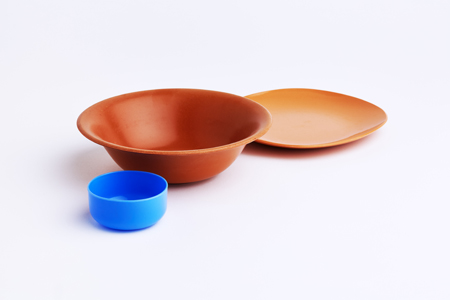 bowls and plate from india