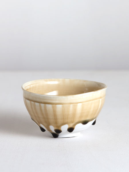 chawan with ash glaze