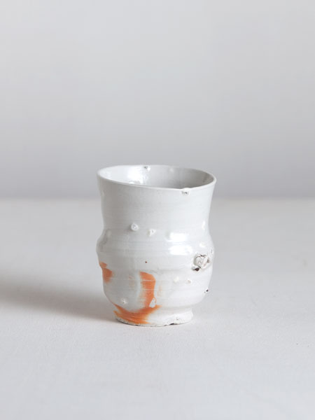 sand and stone porcelain cup