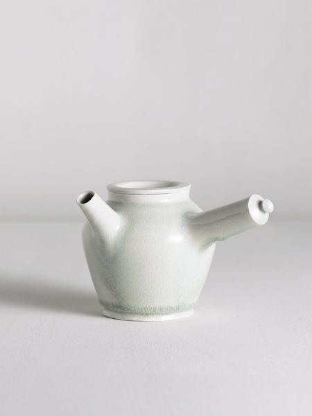kyusu with celadon glaze