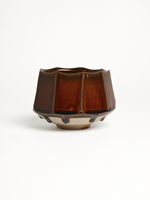 faceted Ame chawan