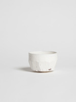 faceted kohiki chawan
