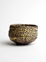 yellow chawan