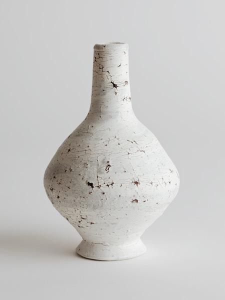 cracked slip vase