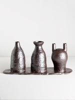 onggi triple vase
