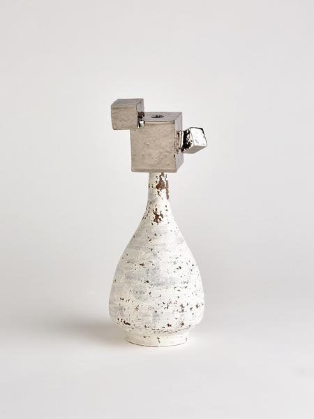 platinum cube vase