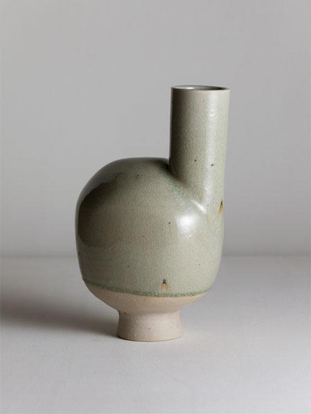 wayward celadon vase